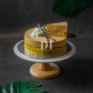 Cappuccino Mocha Mousse Cake Slice