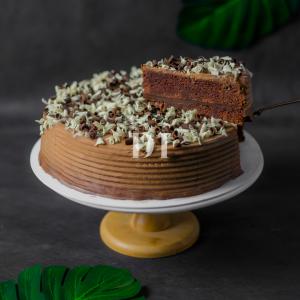 Chocolate Fudge Cake Slice