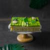 Green Tea Chestnut Mousse Cake