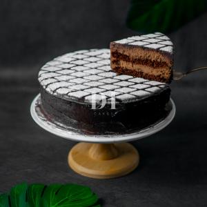 Royal Chocolate Truffle Cake Slice