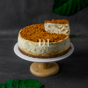 Speculoos Biscoff Cheesecake Slice